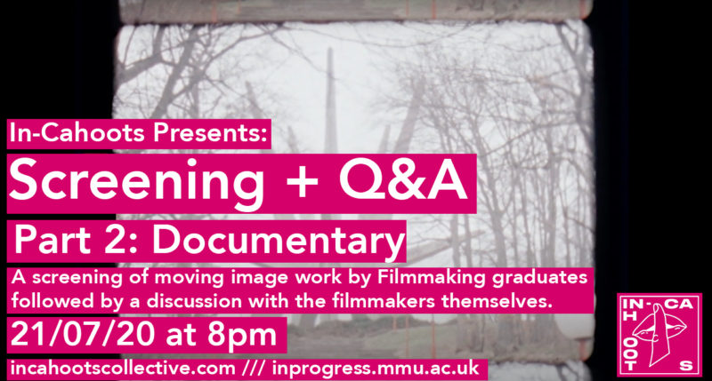In-Cahoots Q&A and Mini-Screening (Part 2 – Documentary)